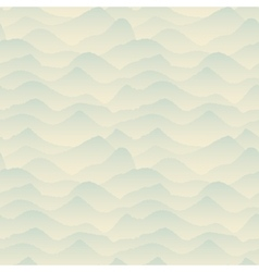 Abstract Blue Mountain Pattern vector image vector image