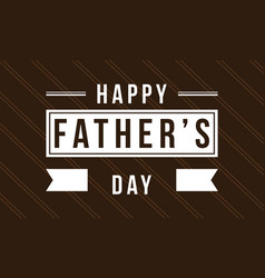 Background of father day style card vector