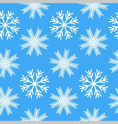 Duotone seamless winter texture background vector