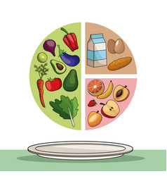 Food healthy eating balance image vector