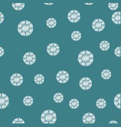 rhinestone template pattern vector image vector image