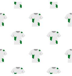 Dirty shirt pattern flat vector