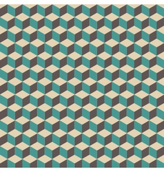 294retro cube pattern vector