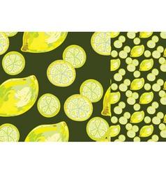 Lemon abstract vector