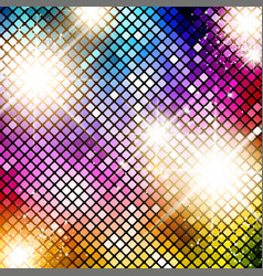 Bright disco background vector