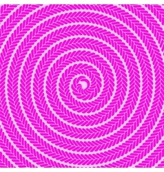 Abstract pink spiral pattern vector