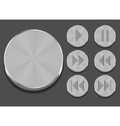 Application sound icon vector