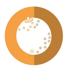 Orange nutrition healthy diet-shadow vector