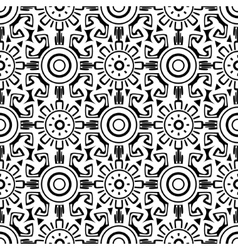 Tribal wheels seamless vector