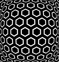 Hexagons pattern vector