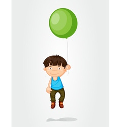 Balloon boy vector image