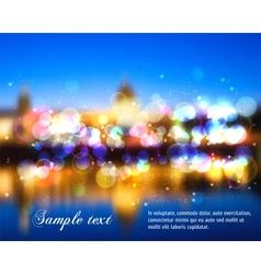 Blurry Lights vector image