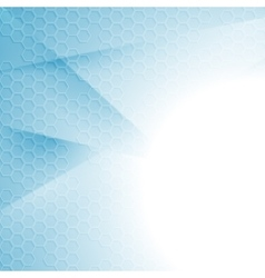 Light blue tech minimal abstract background vector image vector image