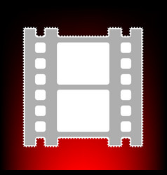 Reel of film vector