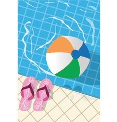 Swimming pool vector