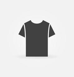 Tshirt icon t-shirt symbol vector