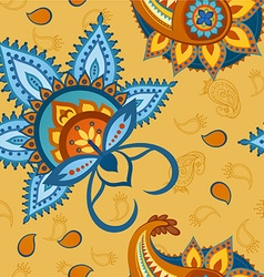 Seamless colorful pattern in turkish style vector