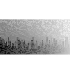 City Grunge vector image vector image