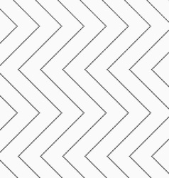 Textured with squares horizontal zigzag vector image vector image