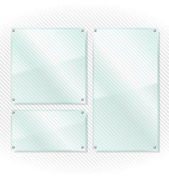 Glass Frames vector image