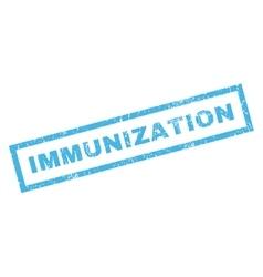 Immunization rubber stamp vector
