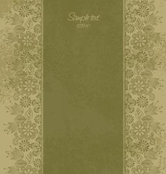 floral motif 2 vector image