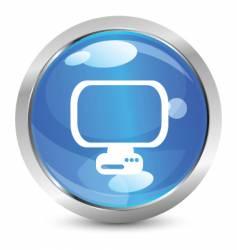 digital icon vector image