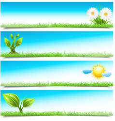 Banners vector