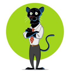 Office panther vector