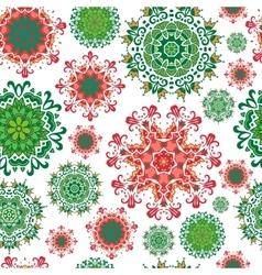 Seamless mandala background vector