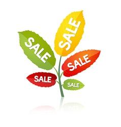 Leaves sale vector