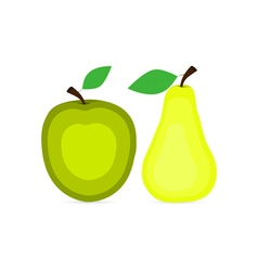 Apple i pear vector
