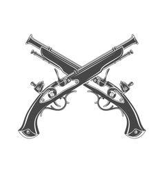 Firelock musket  armoury logo template vector