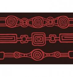 Australian pattern vector image vector image