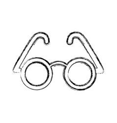 Glasses icon imag vector