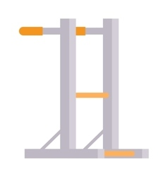 Gymnastics wall bars vector