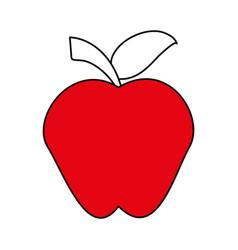Healthy sweet fruit vector