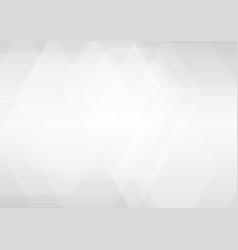 hexagon white and gray geometric is overlap vector image