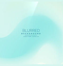 Light blue background in blur style vector