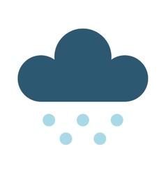 rain cloud vector image vector image