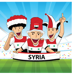 Syria football support vector