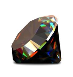 Shiny and bright diamond vector image