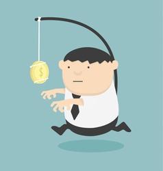 Bait business cartoons concepts vector