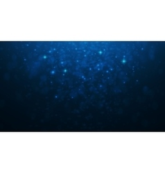Shining blur bokeh background for your design vector image vector image
