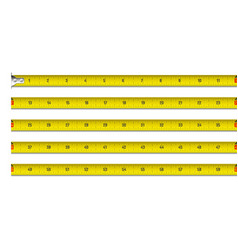 tape measure in inches vector image vector image