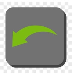 Undo rounded square button vector