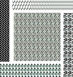 pattern grey geometric 2 vector image