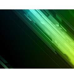 Abstract retro technology lines background vector image