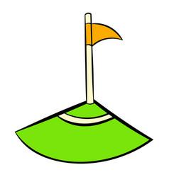 corner icon icon cartoon vector image vector image