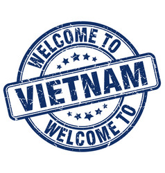 Welcome to vietnam vector